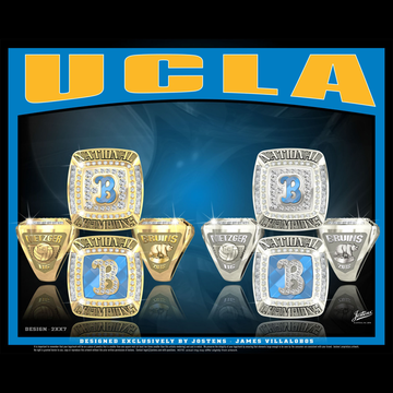 UCLA Women's Beach Volleyball 2018 National Championship Ring