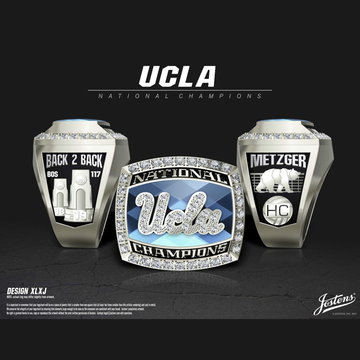 UCLA Women's Beach Volleyball 2019 National Championship Ring