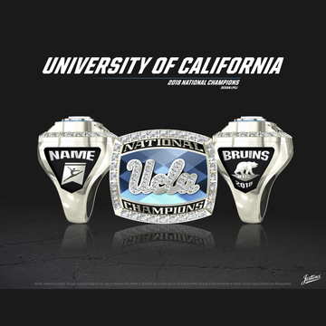 UCLA Women's Gymnastics 2018 National Championship Ring