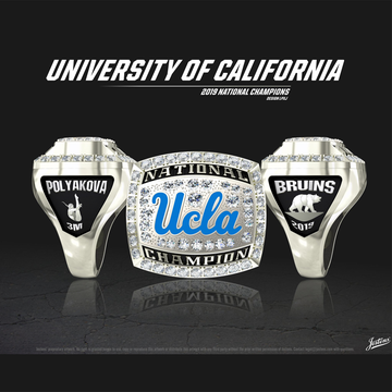 UCLA Women's Swimming & Diving 2019 National Championship Ring