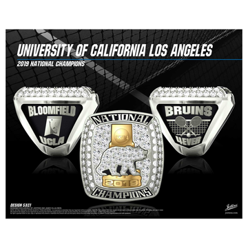 UCLA Women's Tennis 2019 National Championship Ring