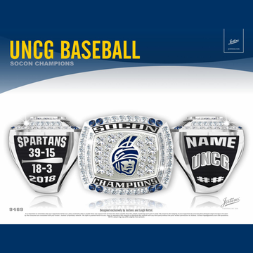 UNC Greensboro Men's Baseball 2018 SoCon Championship Ring