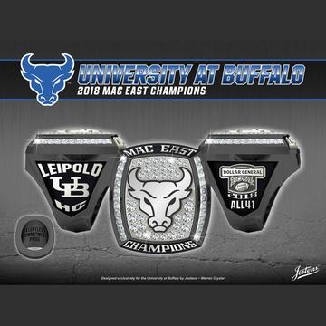 University at Buffalo Men's Football 2018 MAC East Championship Ring