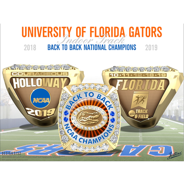 University of Florida Men's Track & Field 2019 National Championship Ring