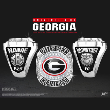 University of Georgia Women's Equestrian 2018 SEC Championship Ring