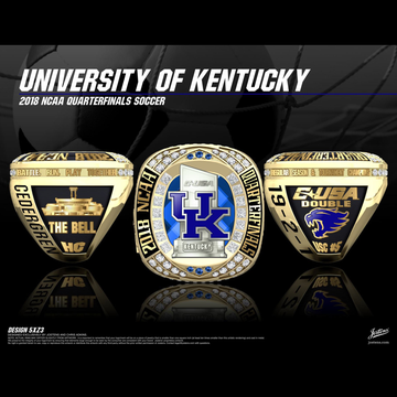 University of Kentucky Men's Soccer 2018 NCAA Tournament Championship Ring