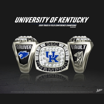 University of Kentucky Women's Track & Field 2018 SEC Championship Ring