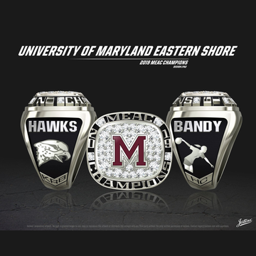 University of Maryland Eastern Shore Women's Bowling 2019 MEAC Championship Ring