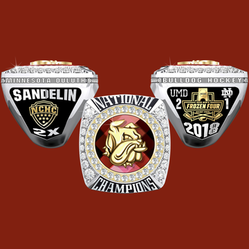 University of Minnesota Duluth Men's Ice Hockey 2018 National Championship Ring