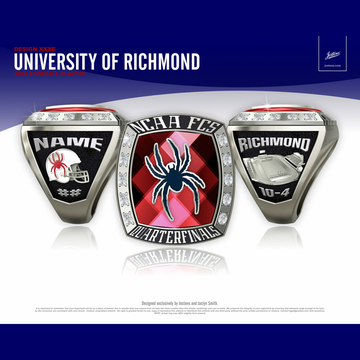 University of Richmond Men's Football 2016 FCS Playoff Championship Ring