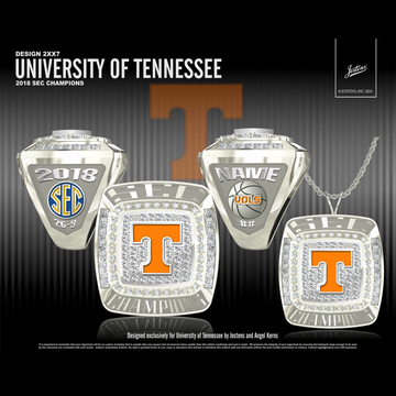 University of Tennessee Men's Basketball 2018 SEC Championship Ring