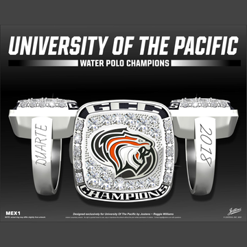 University of the Pacific Women's Water Polo 2018 GCC Championship Ring
