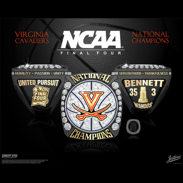 University of Virginia Men's Basketball 2019 National Championship Ring