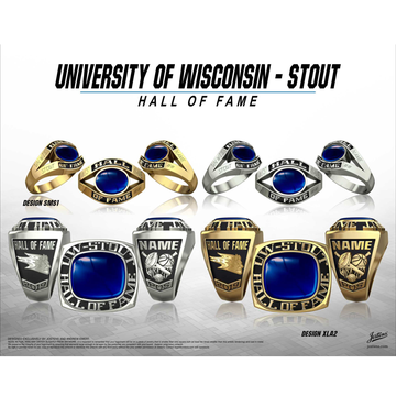 University of Wisconsin Stout Hall of Fame Championship Ring