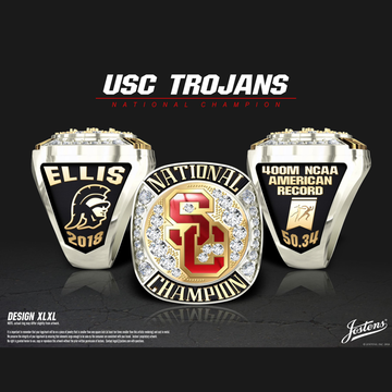 USC Men's Track & Field 2018 National Championship Ring
