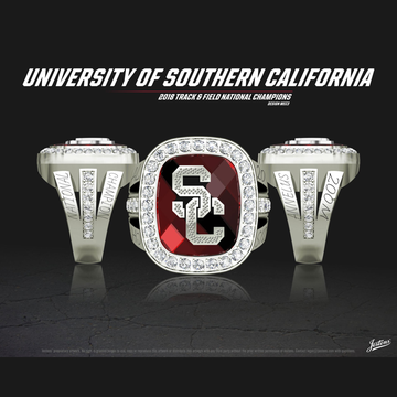 USC Women's Track & Field 2018 National Championship Ring