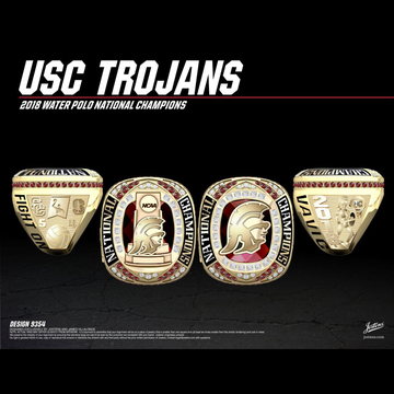 USC Women's Water Polo 2018 National Championship Ring