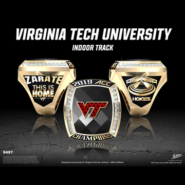 Virginia Tech Men's Track & Field 2019 ACC Championship Ring