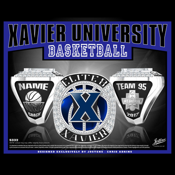 Xavier University Men's Basketball 2017 Elite 8 Championship Ring