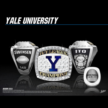 Yale University Men's Football 2017 Ivy League Championship Ring