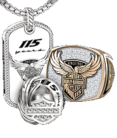 Harley Davidson Custom Jewelry Collection