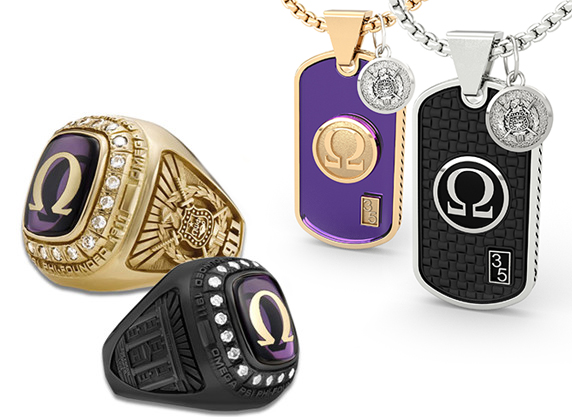 Omega Psi Phi Championship Fan Collection