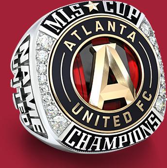 Atlanta United Championship Ring