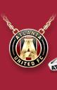 Atlanta United United Logo Necklace