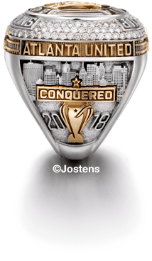 Atlanta United Player's Ring right side view