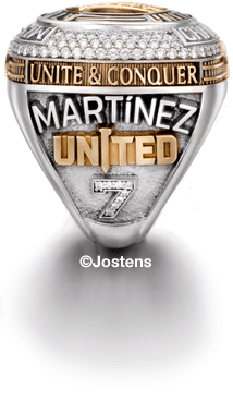 Atlanta United Player's Ring left side view