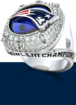 New England Patriots Elite Fashion Ring