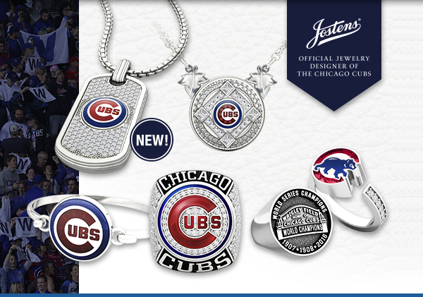 2018 Chicago Cubs Fan Collection Title Banner