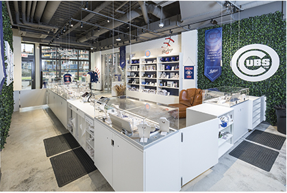 Official Jostens jewelry store at Wrigley Field