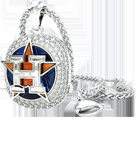 Houston Astros Fashion Pendant