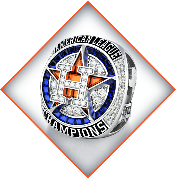 Houston Astros Limited Edition 117 Ring