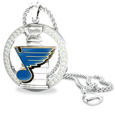 St. Louis Blues Eternity Pendant