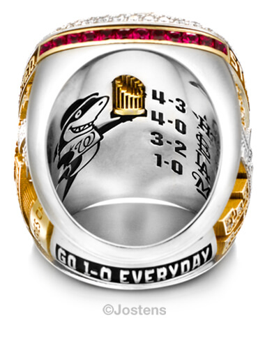 Washington Nationals Elite Ring arbor view