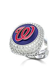 Washington Nationals Elite Fashion Ring