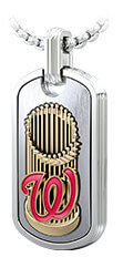 Washington Nationals Trophy Tag