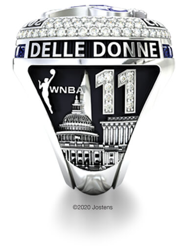 Washington Mystics Elite Ring name side