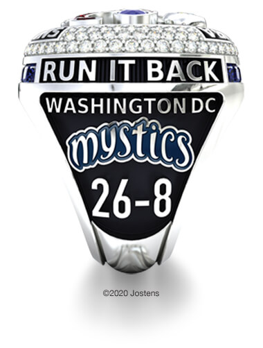 Washington Mystics Elite Ring team side