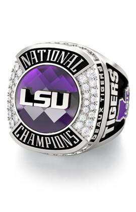 LSU College Championship Fan Ring