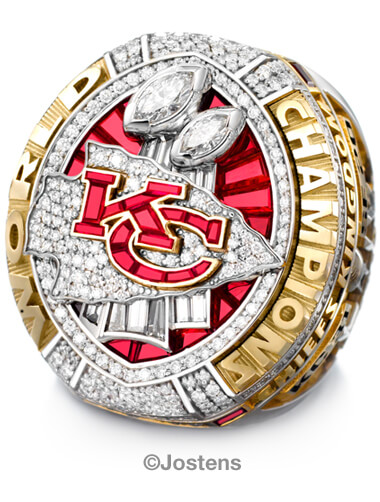 Kansas City Chiefs Championship Ring details view