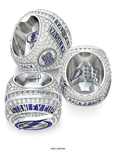 Tampa Bay Lightning Championship Ring arbor view