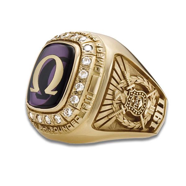 omega psi phi ring