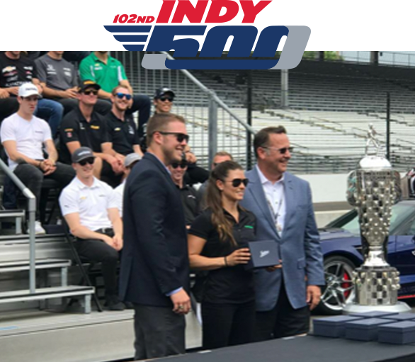 The 102nd Indy 500 Championship Ring ceremony