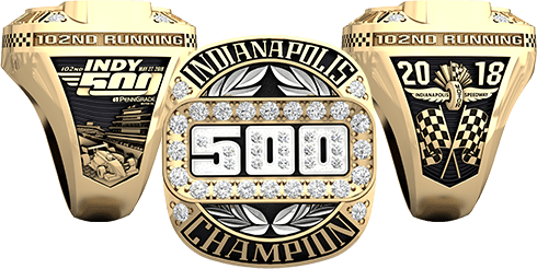 2018 Indy 500 Championship Ring