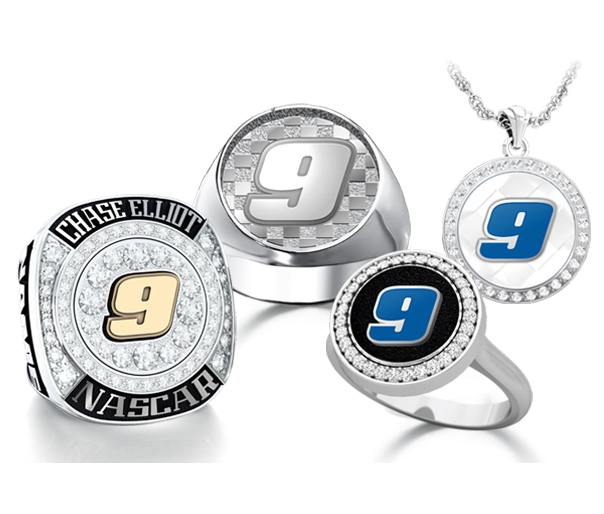 Chase Elliott Fan Collection Jewelry