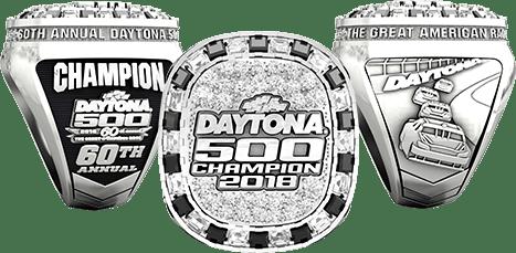 Daytona 500 2018 Championship ring