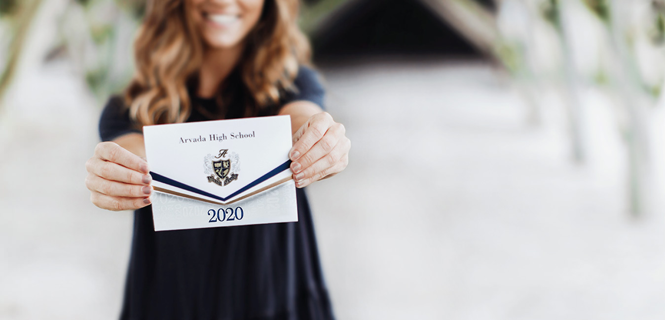 High School Graduation Announcements 2020.High School Graduation Announcements Invitations Jostens